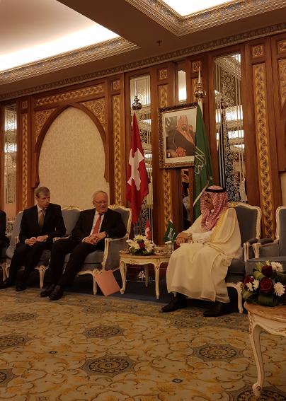 Ein Funken Schweiz in der saudischen Vision