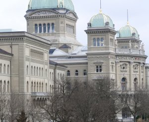 Bundeshaus im Winter
