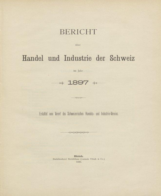 Bild Bericht Handel und Industrie
