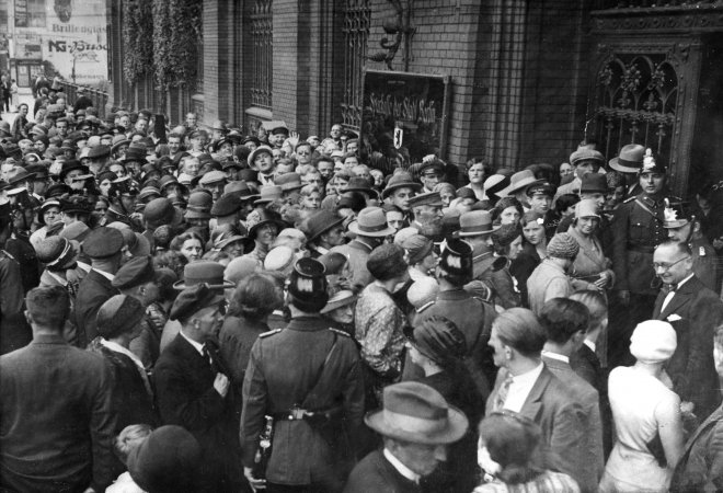 Bild Bankenkrise 1931