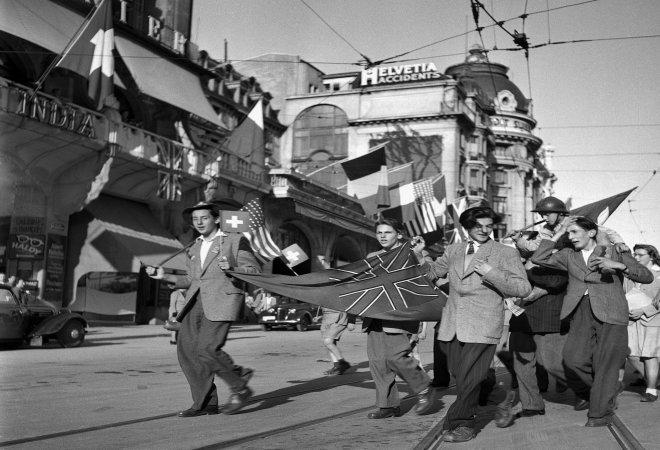 Bild Kriegsende Lausanne